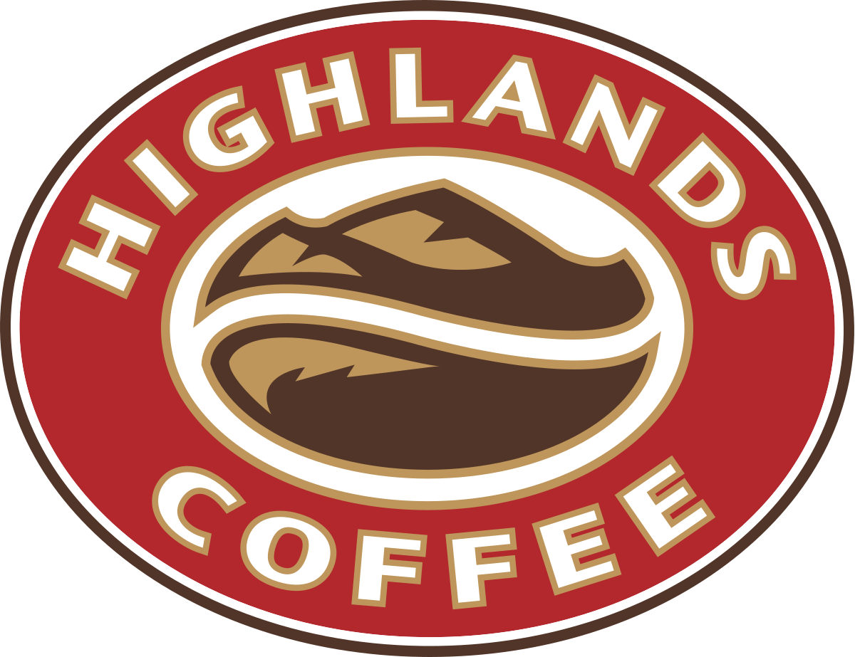 in decal trong highlandcoffee
